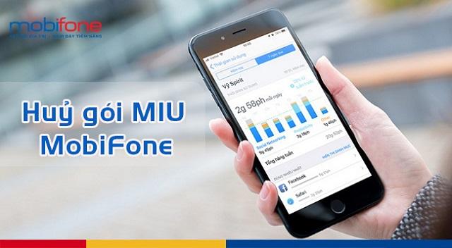 Bật mí cách huỷ gói cước MIU MobiFone để đăng ký gói cước mới