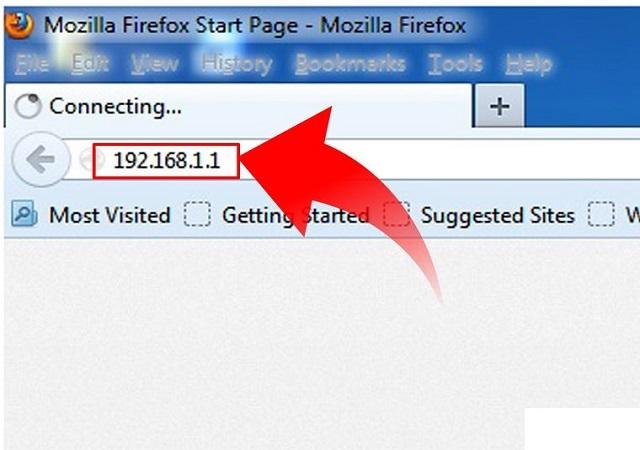 Bước 2: Truy cập IP của bộ phát wifi